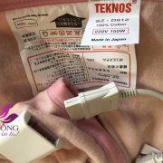 Tổng kho chăn điện Teknos Nhật Bản chính hãng