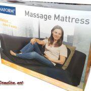 mẫu mã bao bì đệm massage toàn thân lanaform bỉ