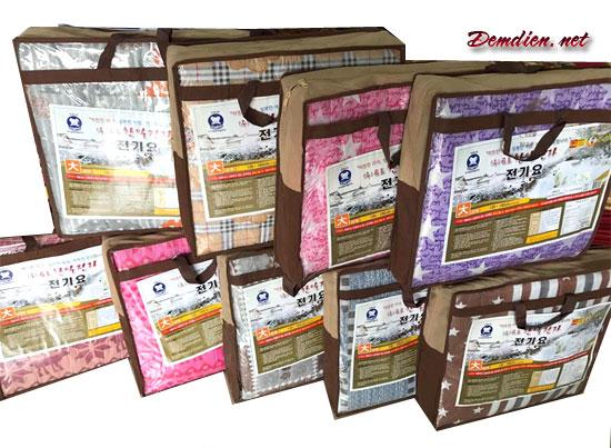 Đệm điện Korea vải cotton đến từ Hàn Quốc