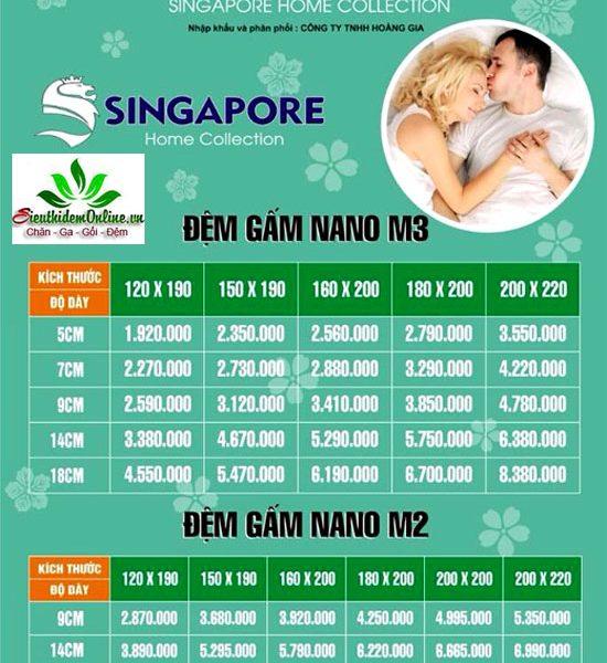 Nơi bán đệm singapore tại Hà Nội Việt Nam