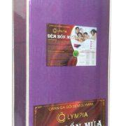 Đệm Olympia cao cấp màu tím