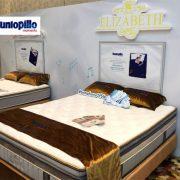 Mẫu đệm cao cấp thương hiệu Elizabeth Dunlopillo