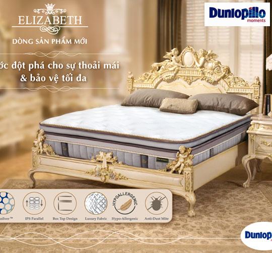 Đệm lò xo cao cấp Elizabeth Dunlopillo