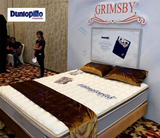 tổng kho đệm Grimsby Dunlopillo