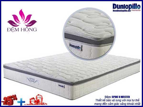 Đệm Spine O Master Dunlopillo khuyến mại 25% kèm quà tặng giá trị