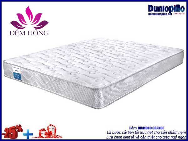 Nệm Diamond Dunlopillo khuyến mại giảm giá tới 25%
