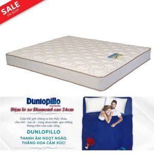 đệm lò xo Diamond Dunlopillo khuyến mại