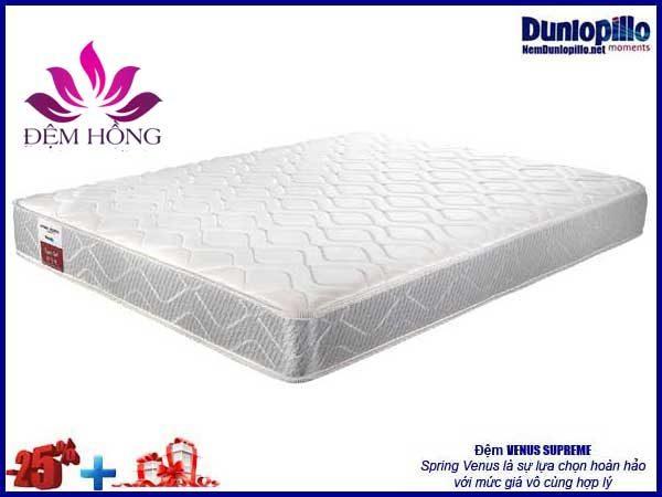 Đệm Venus Dunlopillo khuyến mại tới 25% kèm nhiều ưu đãi lớn