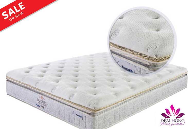 Đệm Duchess Extra Firm - kiểu dáng Châu Âu, thương hiệu Dunlopillo cao cấp