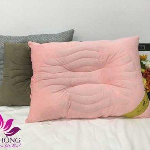 Gối massage hạt Muỗn chất lượng cao màu Hồng