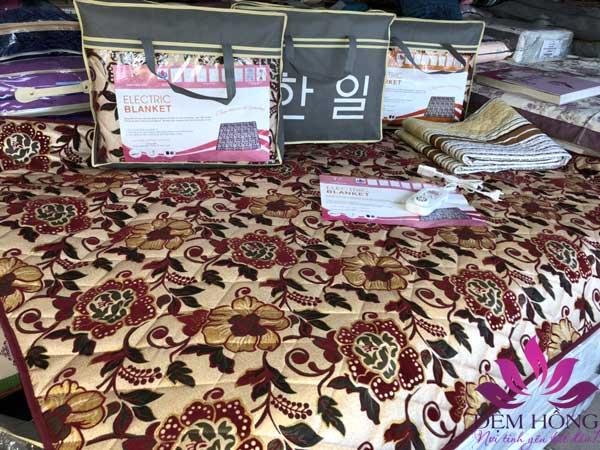 Nhà phân phối đệm điện Hàn Quốc cao cấp nhập khẩu