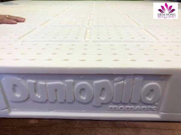 Mẫu ruột nệm cao su Dunlopillo cao cấp nhập nguyên tấm từ Tây Ban Nha