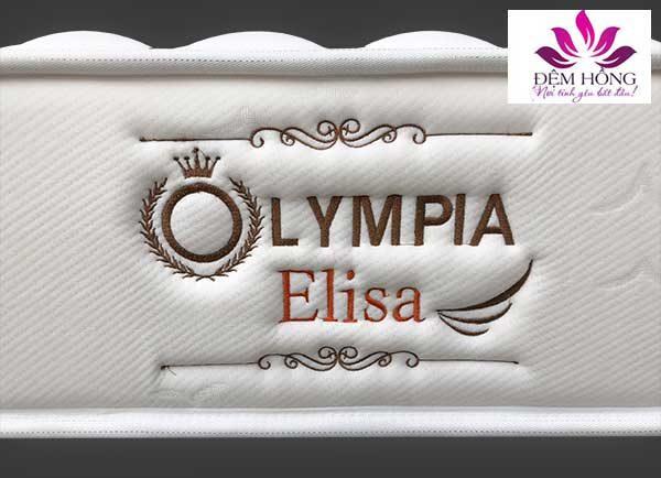 Logo đệm lò xo Olympia Elisa chính hãng