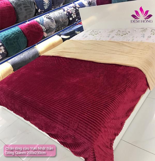 Nơi cung cấp chăn lông cừu Đỏ đô Yuki