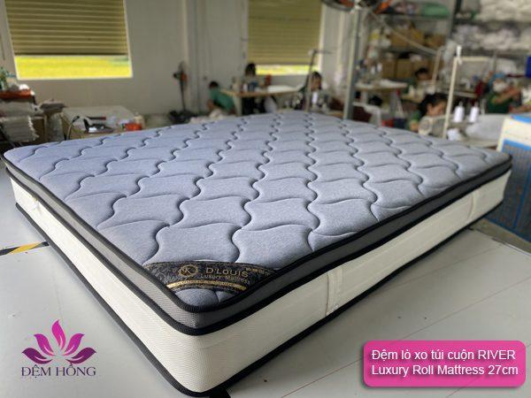 Đệm lò xo túi D'louis River Luxury Roll Mattress