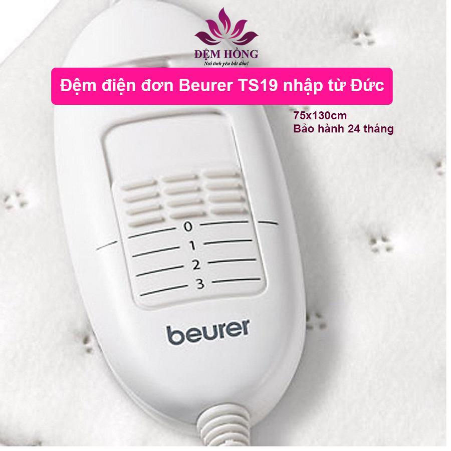 Bộ điều khiển nhiệt độ của đệm điện Beurer dòng TS19