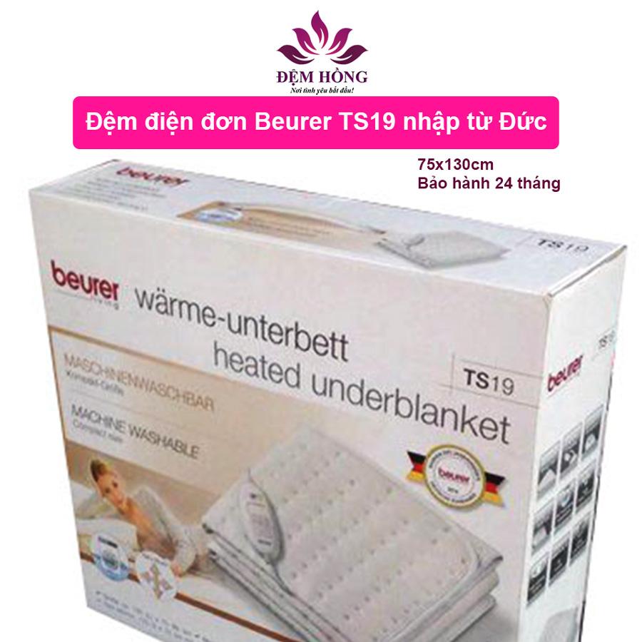 Bao bì đóng gói nệm điện đơn Beurer TS19